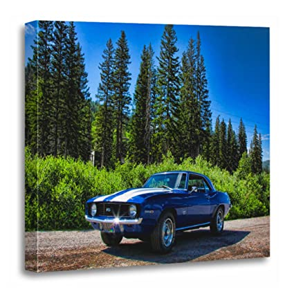 Amazon Com Torass Canvas Wall Art Print Chevy 1969 Ss Camaro Super