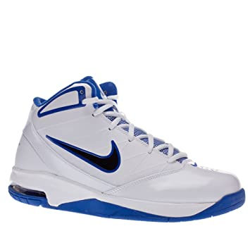 836a50aa9 Nike trainers shoes mens air team hyped 2 white  8 us   Amazon.co.uk ...