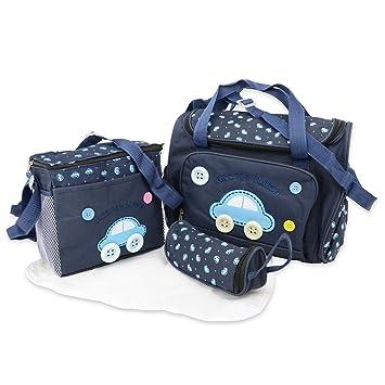 Wickelunterlage /inkl /4/St/ück Wickelaufsatz Baby Windel 4/Tasche Set/ Cute as a Button/