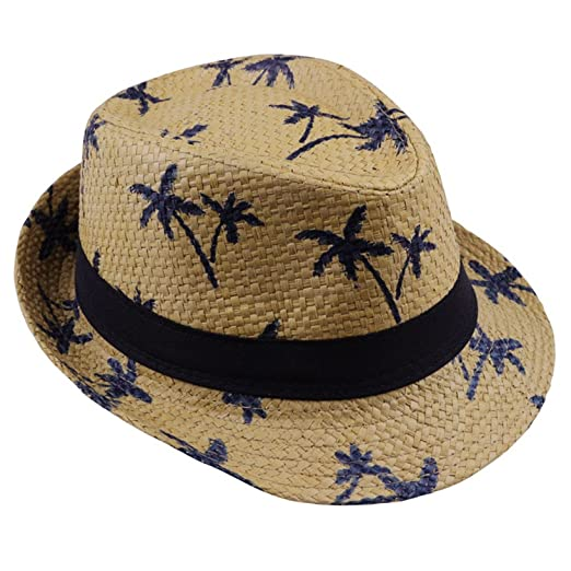 a745ac59430 Sawick Summer Straw Sun Hat Kids Beach Sun Hat at Amazon Men s Clothing  store