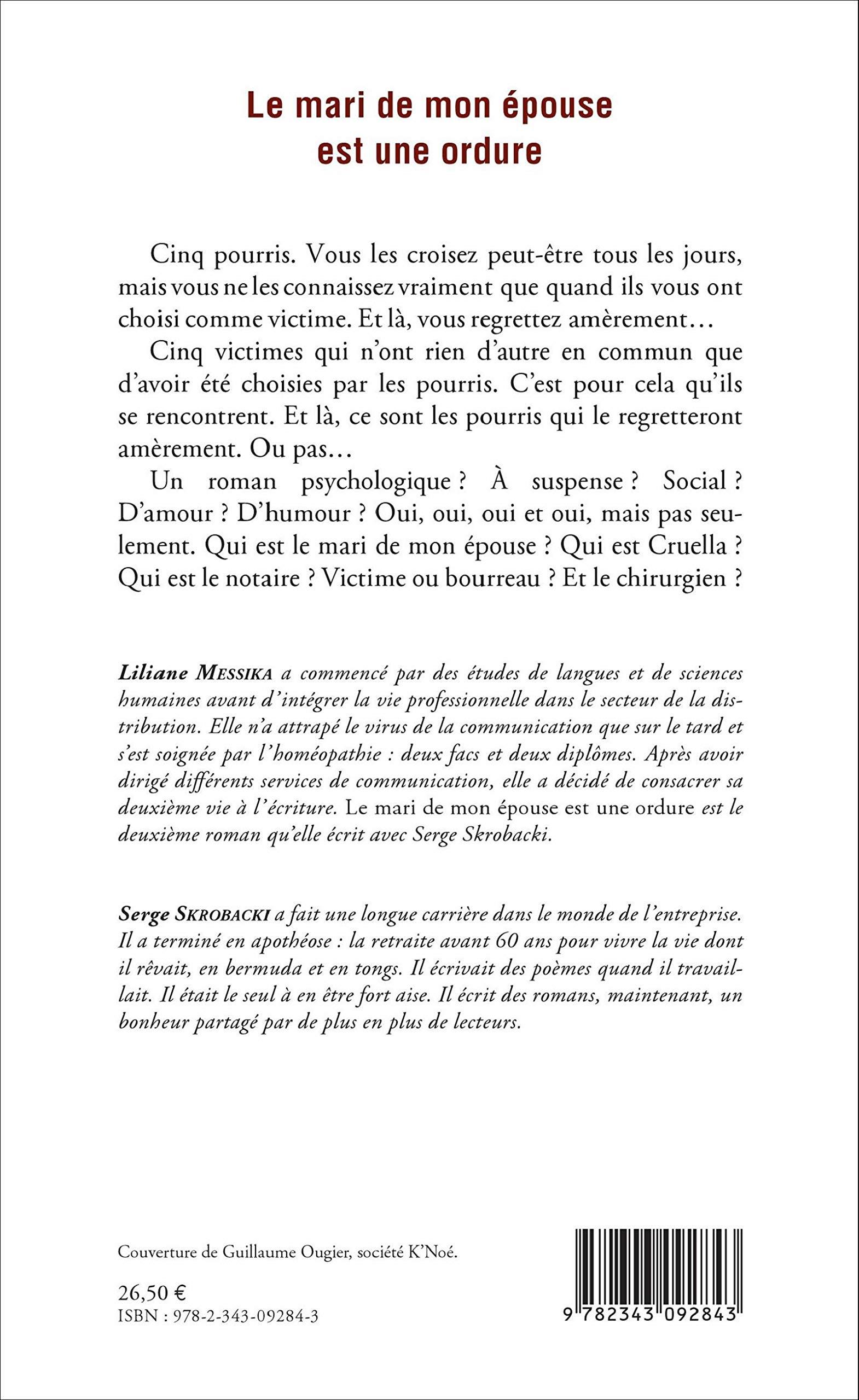 Le Mari De Mon Epouse Est Une Ordure Roman Amazones