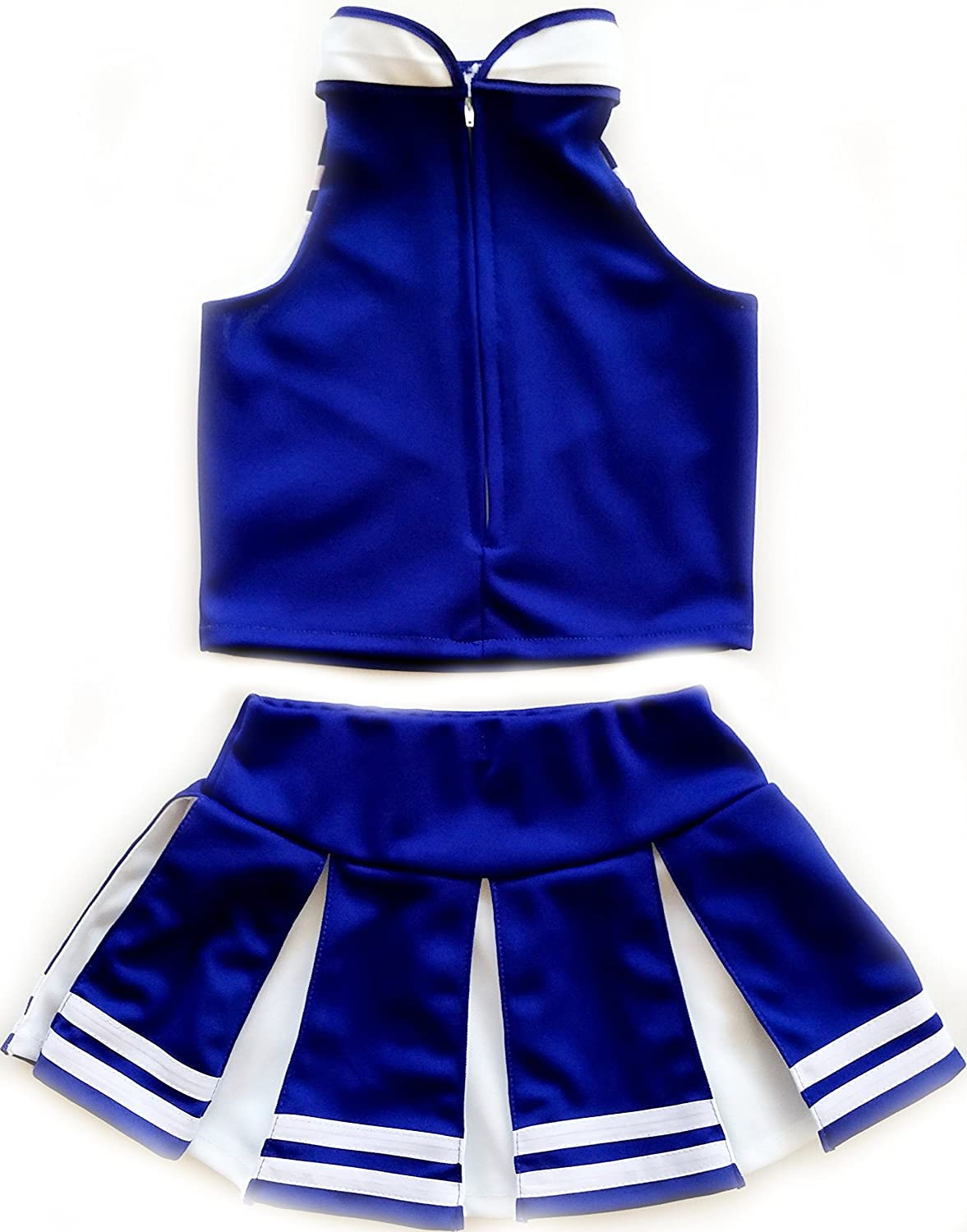 6bbf765b0 Amazon.com  Kids Girls  Cheerleader Costume Uniform Cheerleading ...