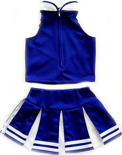 e108f9a6bdf Amazon.com  Kids Girls  Cheerleader Costume Uniform Cheerleading Children  Dress Outfit  Clothing