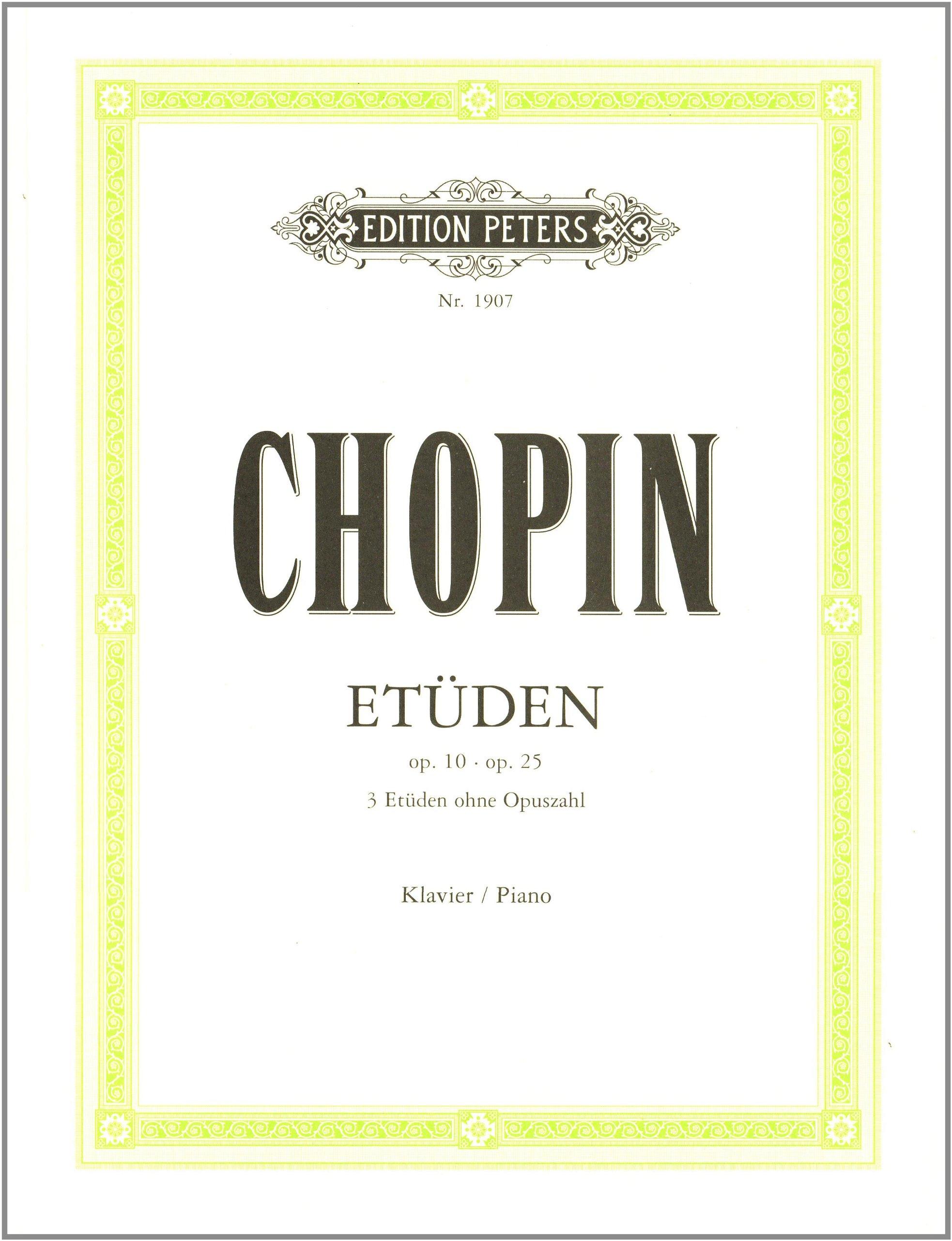 Chopin: Etüden Op. 10 & 25. Klavier