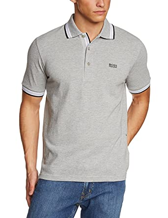 533b507e Hugo Boss - Men's Paddy Pro Polo Shirt. Short Sleeve. Modern Fit (Grey