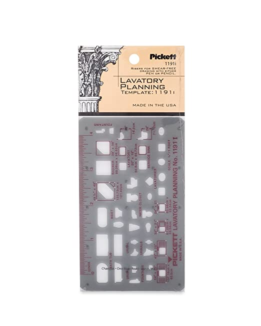 Amazon Com Pickett Sheet Metal Duct Work Template 1276i