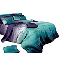 Vitara Quilt Cover Set, 3 Piece Duvet Cover Set Includes 2 Pillowcases, Doona Cover Set