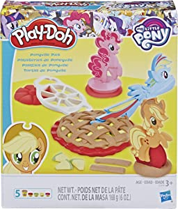 Play-Doh My Little Pony Ponyville Pies Set with 5 Colors