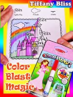 Color Blast Coloring Book No Mess Magical Princess Patterns Melissa and Doug Tutorial How To