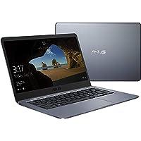 """Asus Vivobook E406MA-BV112TS PC portable 14"""" Ombre foncée/Finition métallique (Intel Pentium, 4 Go de RAM, 64 Go EMMC , Windows 10) Clavier AZERTY Français - Office 365 Personnel Inclus - 1 an"""