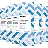 Amazon Brand - Solimo Therapeutic Dandruff Shampoo, Extra Strength, 6 Fluid Ounce (Pack of 6)