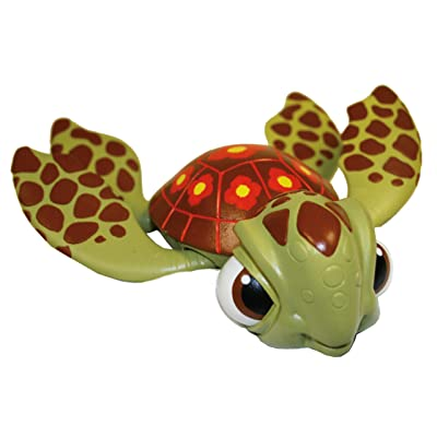 "Swimways FINDING NEMO Sea Turtle Squirt Swimming 8"" Pool Bath Toy: Toys & Games"