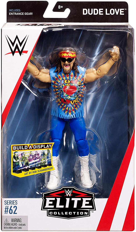 Mattel GCL18 WWE Elite Figura de Acci/ón Luchador Dusty Rhodes Juguetes Ni/ños 8 A/ños