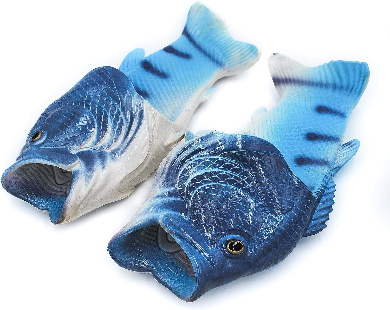 Coddies Fisch Flops Strandschuhe Flip Flops Hausschuhe Freizeitschuhe Duschschuhe und Sandalen f/ür M/änner Frauen und Kinder