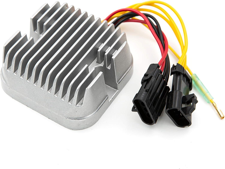 Voltage Regulator Rectifier Fit for 2008 2009 Polaris Sportsman 500 2007 Polaris Sportsman 700 2007 2010 Polaris Sportsman 800 2008 2009 Polaris Sportsman X2 500 Repl#:4011925 4012384
