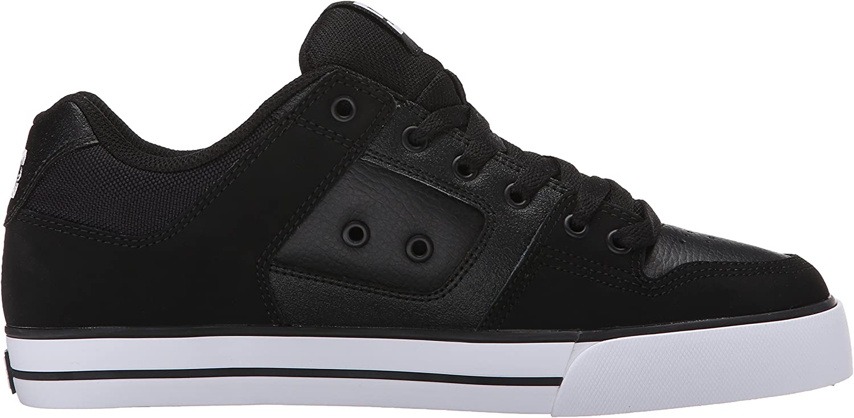 DC Shoes Pure Slim Mens Shoe D0301970 Herren Sneaker Schwarz Weiß 2