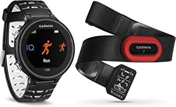 Garmin Forerunner 630 HRM - Reloj GPS con pulsómetro y métricas de Carrera avanzadas, Color Negro: Amazon.es: Deportes y aire libre