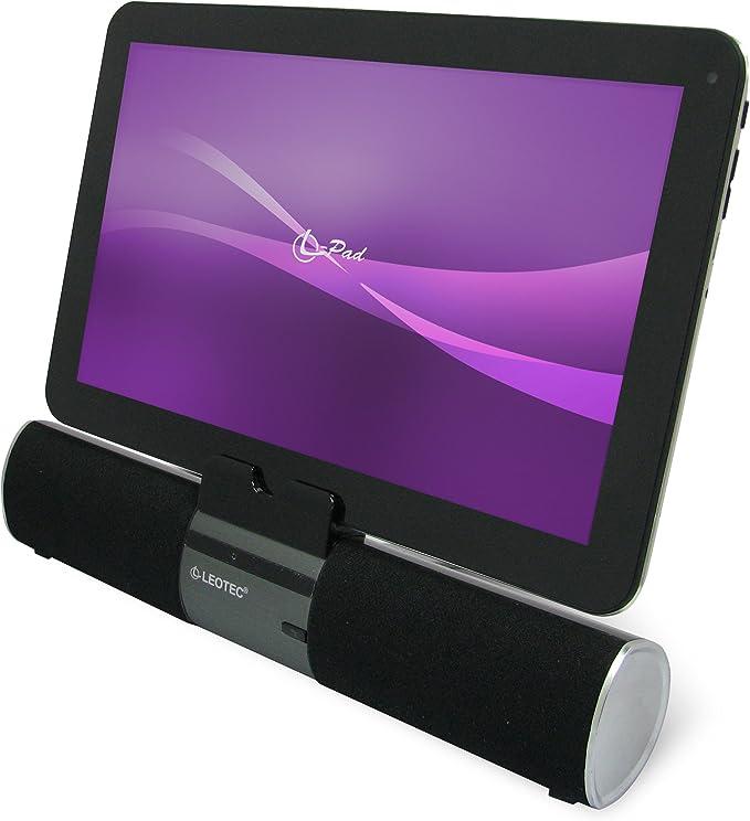 Leotec LEBTSPK01 - Altavoz Bluetooth con soporte y Line in para ...