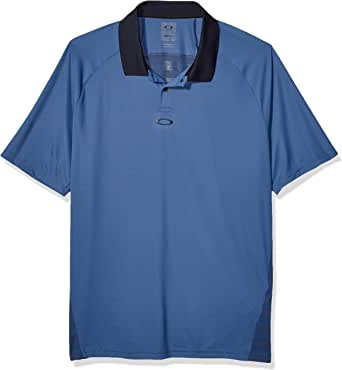 Oakley Mens Polo Shirt Ss Back Striped, Ensign Blue, L: Amazon.es ...