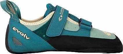 Evolv Elektra Climbing Shoe - Women's Jade/Seapine 4