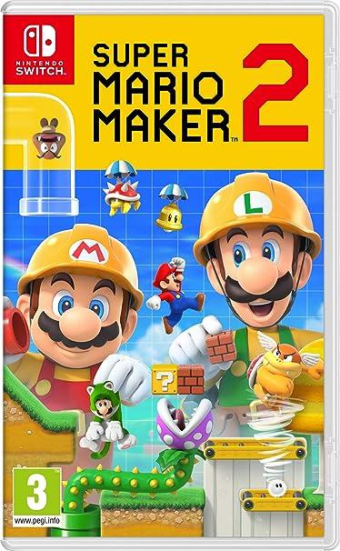 Super Mario Maker 2: Pack de juego + Suscripción de 12 meses a Nintendo Switch Online (Edición limitada): Nintendo: Amazon.es: Videojuegos