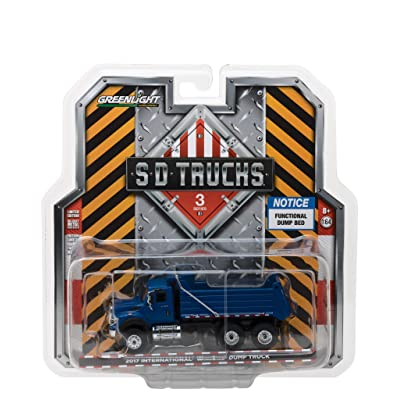 Greenlight 1:64 Sd Trucks Series 3-2020 International Workstar Dump Truck Vehicle: Toys & Games