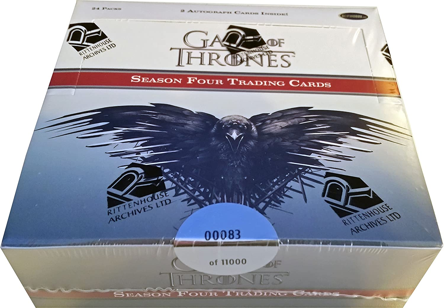 2 Autographs per Box Game of Thrones Season 6 Factory Sealed Box
