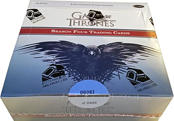 Game Of Thrones Season 7 Factory Sealed Hobby Box 24 Packs