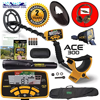 Image Unavailable. Image not available for. Color: Garrett ACE 300 Metal Detector ...