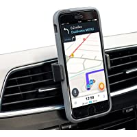 Phone Holder for Car - Olixar Invent Mini - Smartphone/Cell Phone Air Vent Mount/Cradle - Extendable & Portable - 360 Degree Rotation - Case Compatible - Universal