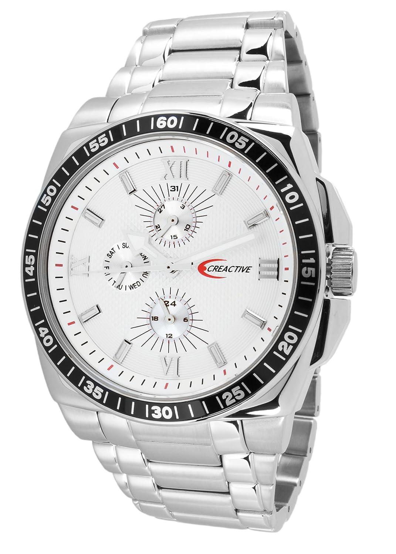 Creactive Herren-Armbanduhr Quarz Analog Edelstahl - CA120111