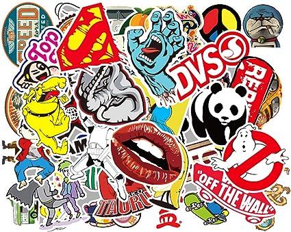 Eposeedor 50 Pegatinas Coche, Graffiti Stickers Coche en Vinilo ...
