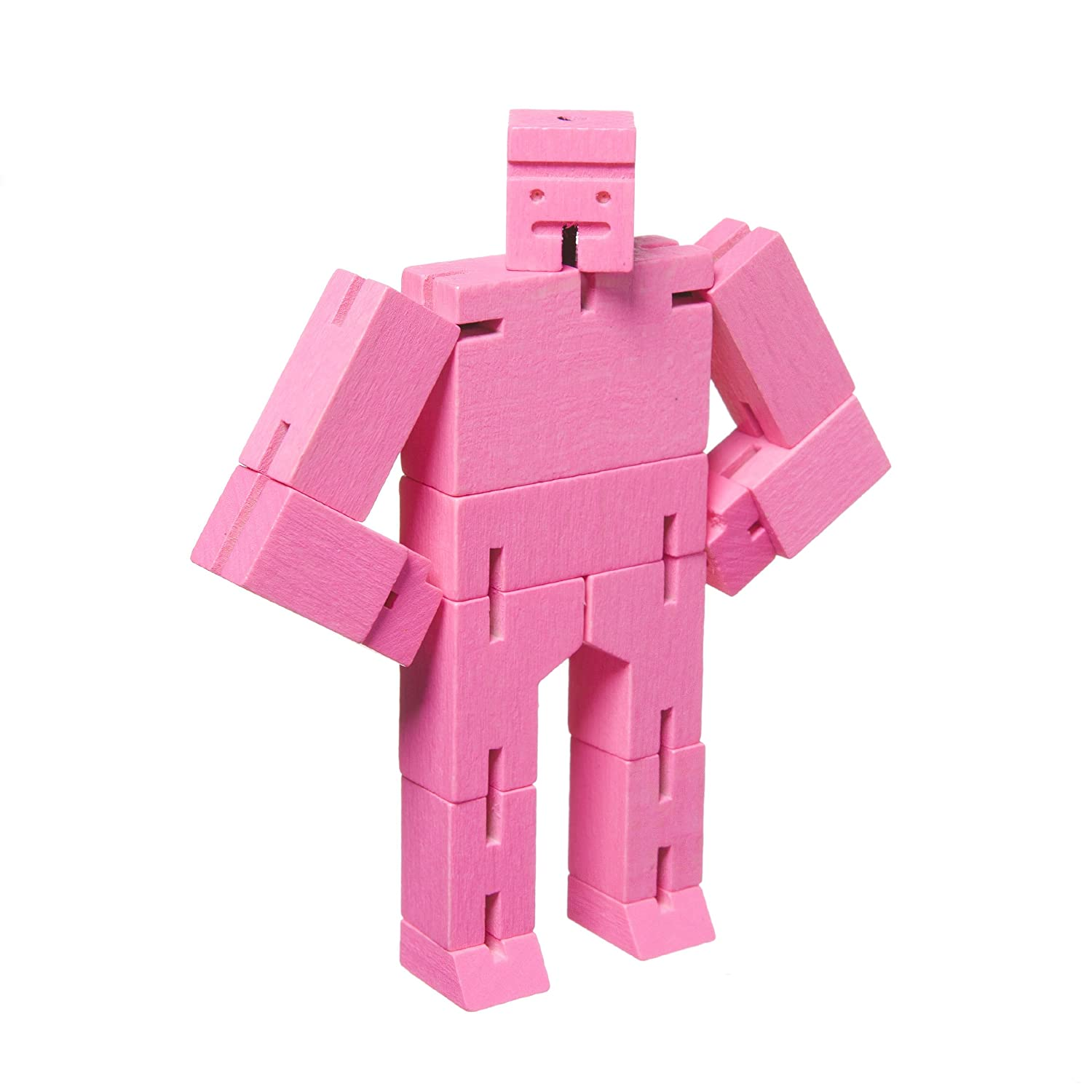 Micro Cubebot Brain Teaser Puzzle, Pink by Areaware: Amazon ...