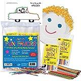 Wikki Stix Original Wax and Yarn Creative Fun Sticks in Set of 15 Party Fun Favors 12 Wikki Stix in Each, Plus Activity Sheet