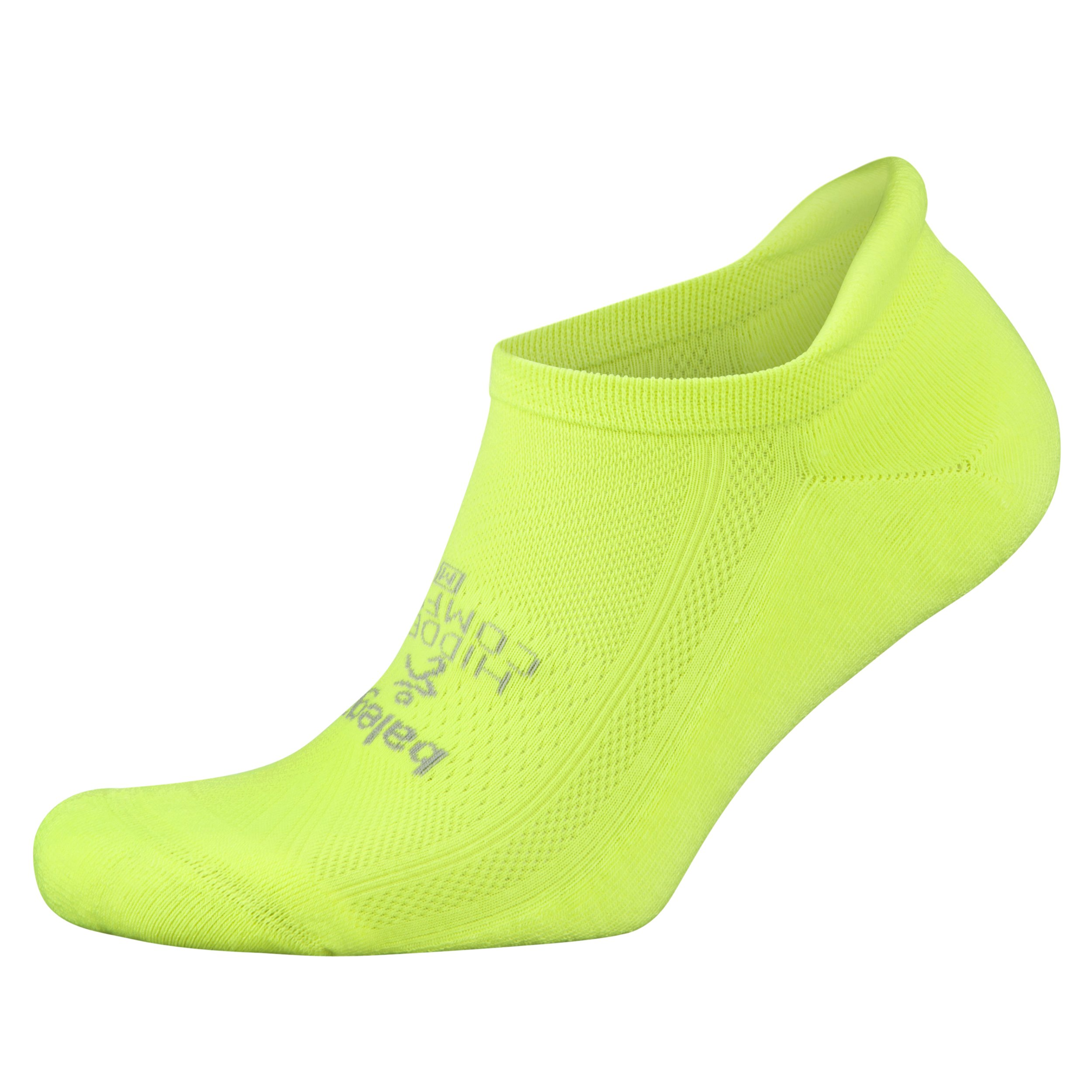 Balega Hidden Comfort No-Show Running Socks for Men and Women (1 Pair), Zest Lemon, Small by Balega