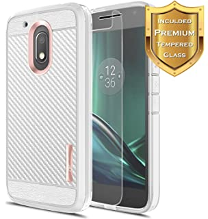 Amazon.com: ikasus Motorola Moto G4 Play Case, [Full-Body ...