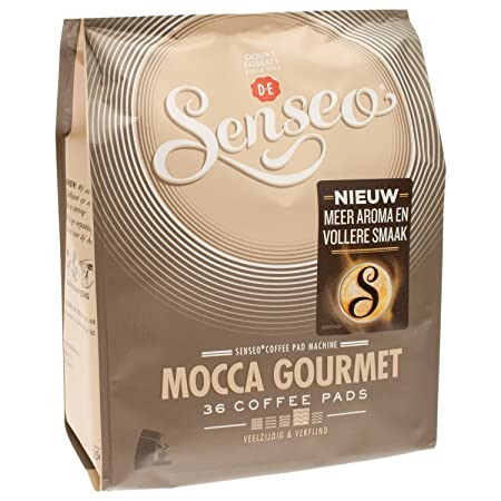 Senseo Kaffeepads Mocca Gourmet, Fresco & Intenso, Café para ...