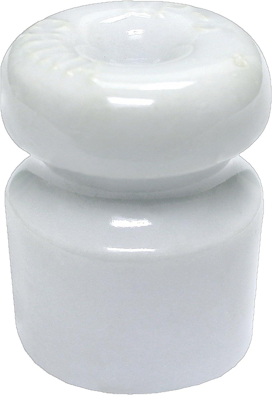 Zareba WP1933 Ceramic Lag Screw Insulator Small