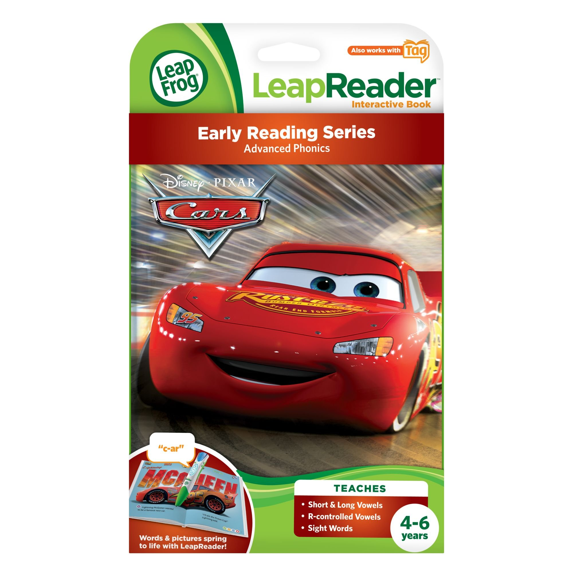 LeapFrog LeapReader Book: Disney·Pixar Cars: Racing Adventures (works with Tag) by LeapFrog (Image #3)