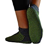 Non-slip, Anti-Slip, Anti-skid Grip Socks for Hospital, Yoga, Barre, Pilates use Men and Women by GrippyPlus