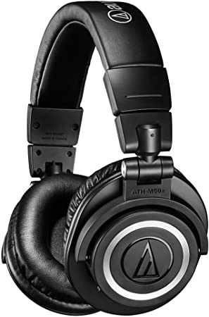 Oferta amazon: Audio-Technica ATH-M50XBT - Auriculares inalámbricos, Color Negro