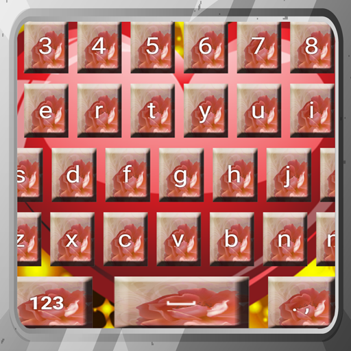 Sweet Love Keyboards (Love Symbol Shape)