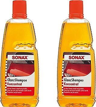 2x 1 L Liter Sonax Glanzshampoo Konzentrat Glanz Shampoo Autoshampoo Autopflege Auto