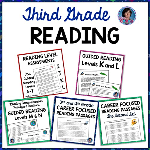 Third Grade Reading Comprehension Passages With Text Evidence Written  Response And Multiple Choice Questions