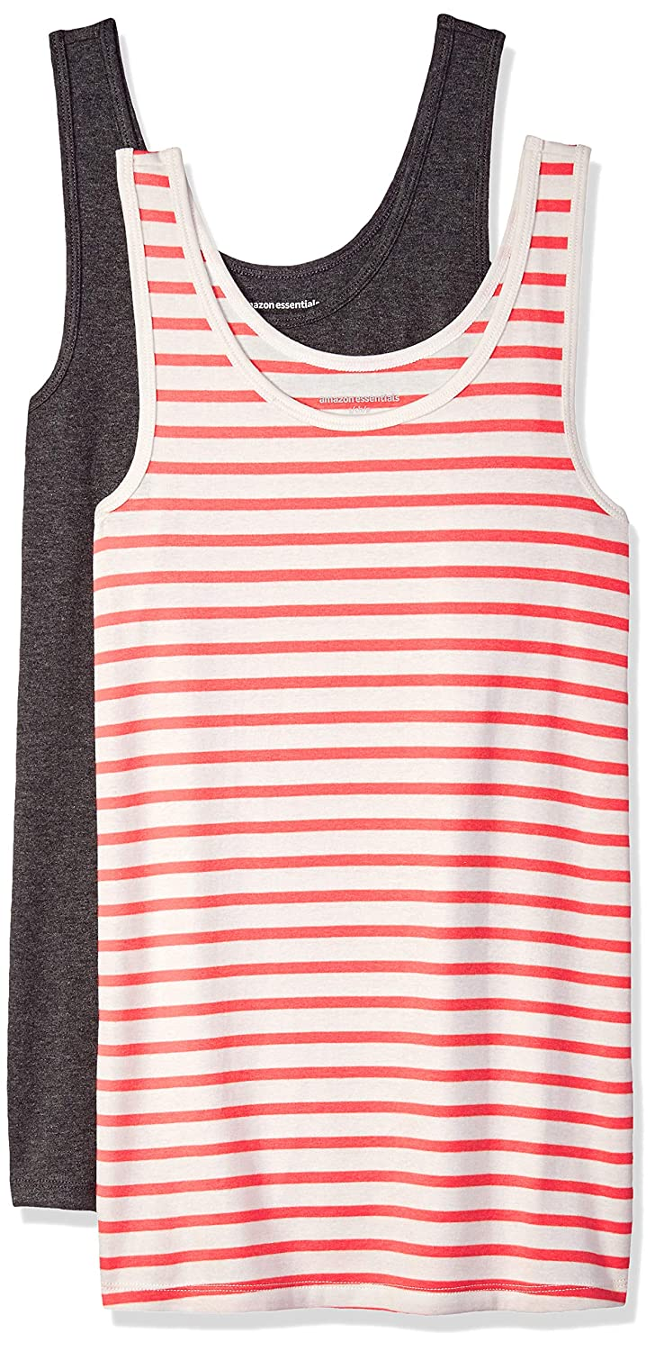 Essentials Womens 2-Pack Patterned Tank