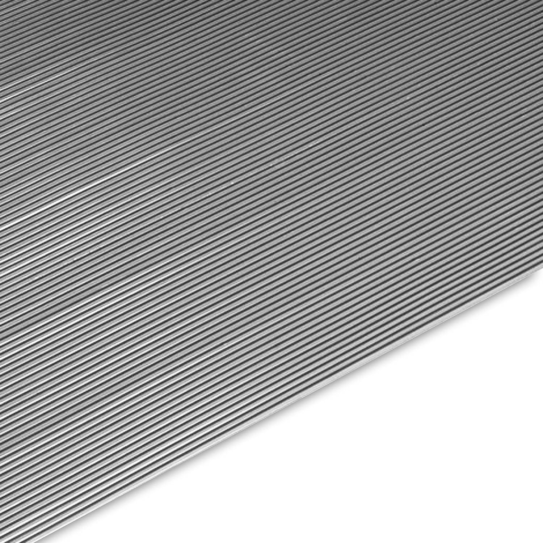 120 x 250 cm Miniripp Gummil/äufer in Grau Gummimatte Schutzmatte Noppenmatte Bodenmatte Noppen Premium gummimatten stall