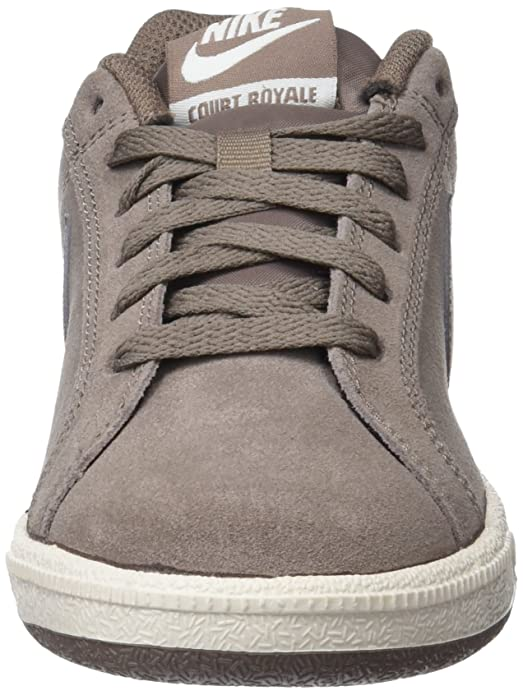 Amazon.com | Nike Womens Court Royale Suede Gymnastics Shoes, Mink Brown/Phantom 200, 5 UK | Athletic
