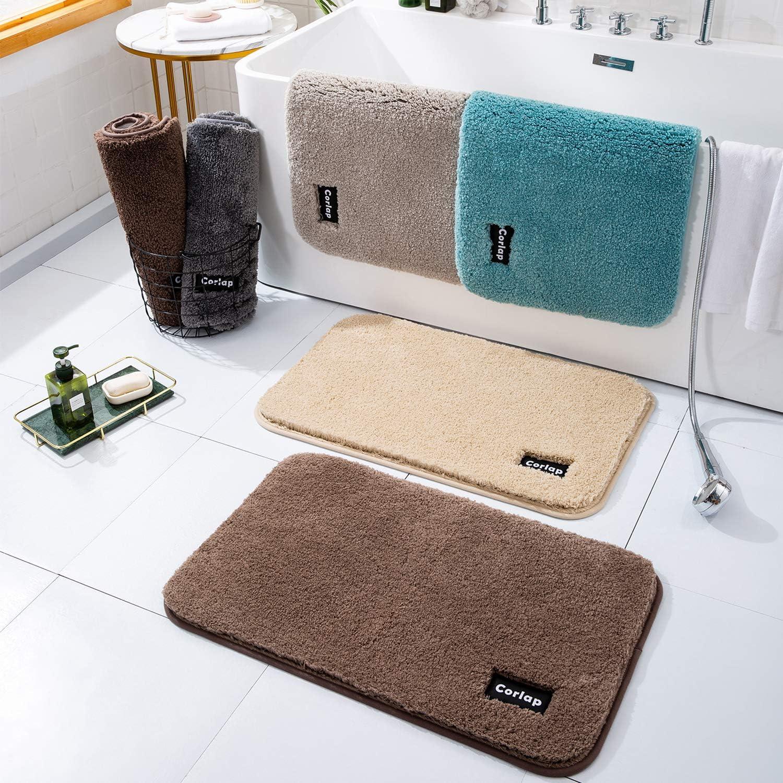 50% Off Coupon – Brown Bathroom Rug Non Slip
