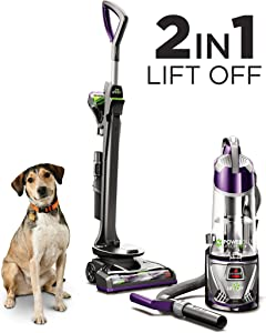 BISSELL 20431 Powerglide Lift-Off Pet Plus Upright Bagless Vacuum