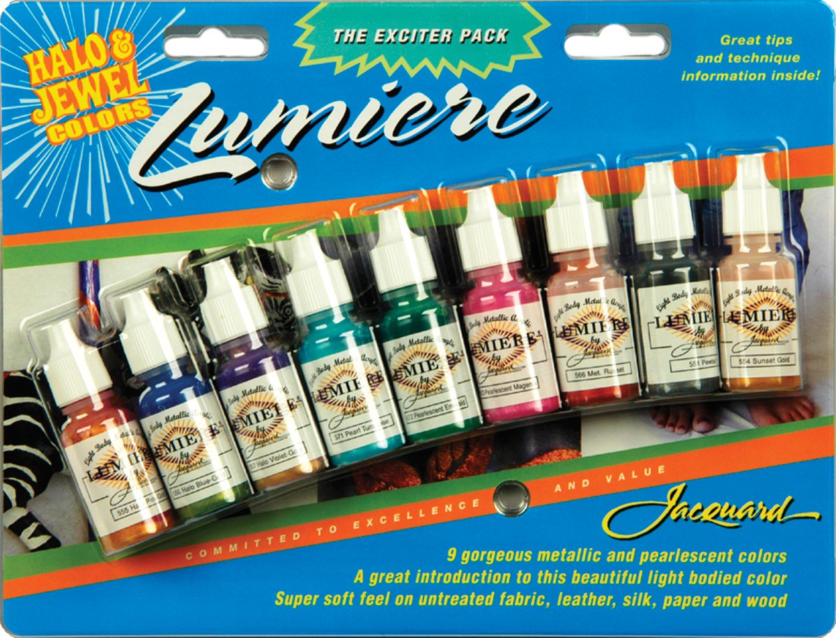 Acrilicos Jacquard Lumiere 9 x 14gr. Multicolor
